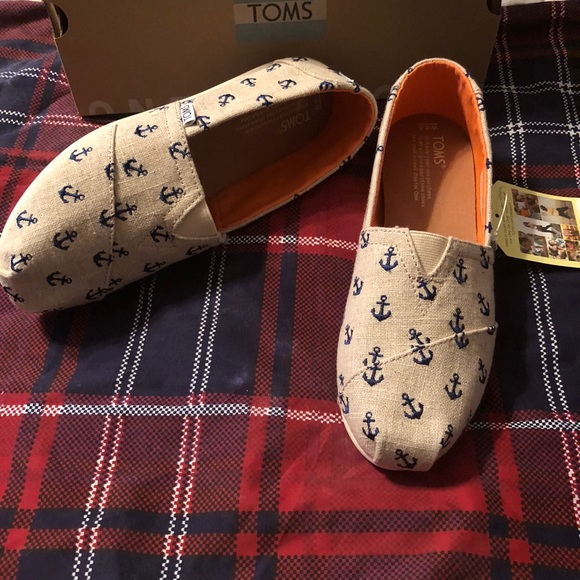 c8f3caf6341 Toms Nautical Anchor - Natural